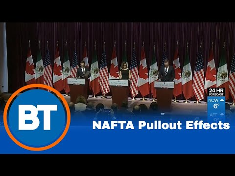 What a NAFTA pullout means for you