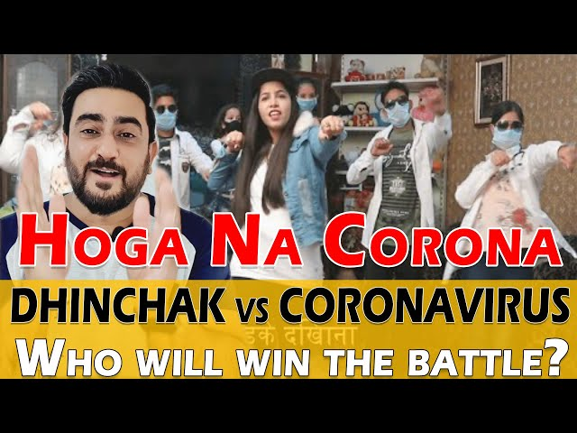 Dhinchak Pooja - Hoga Na Corona Reaction | Dhinchak vs Corona | IAmFawad