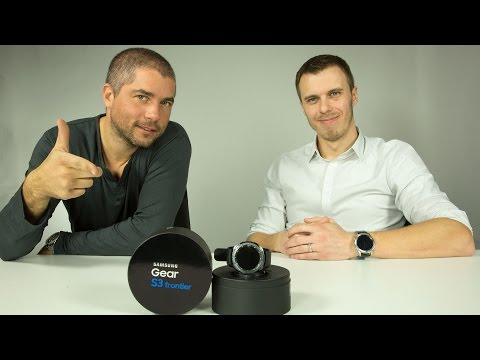 Chytré hodinky Samsung Gear S3 - [videorecenze]