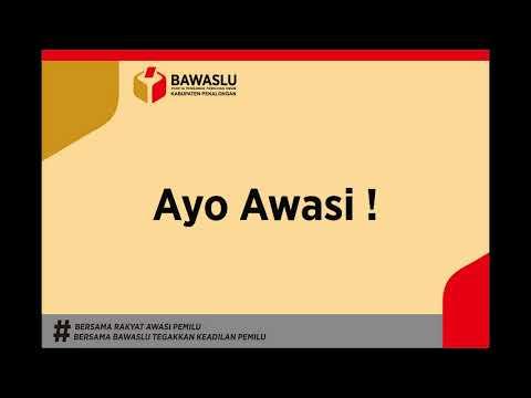 MARS BAWASLU edited by Panwaskab Pekalongan