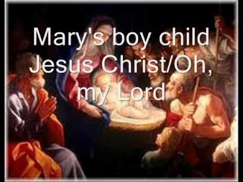 Mary's boy child - Oh, my Lord lyrics