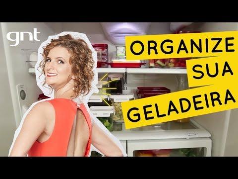 Aprenda a organizar a geladeira | Micaela Gois