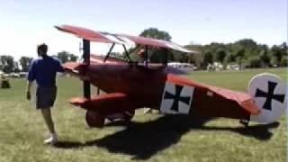 http://www.lightsportaircraft.ca - Fokker DR1 triplane Airdrome Aer...