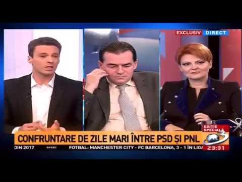 Mircea Badea, dialog incendiar cu Ludovic Orban