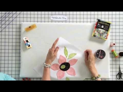 How To Hand Stitch Applique By Jill Finley Of Jillily Studio - Fat Quarter Shop