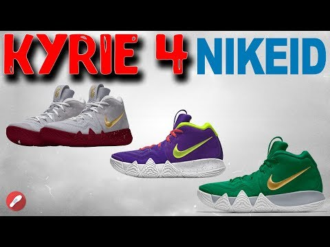 Designing the Kyrie 4 on NIKE ID!