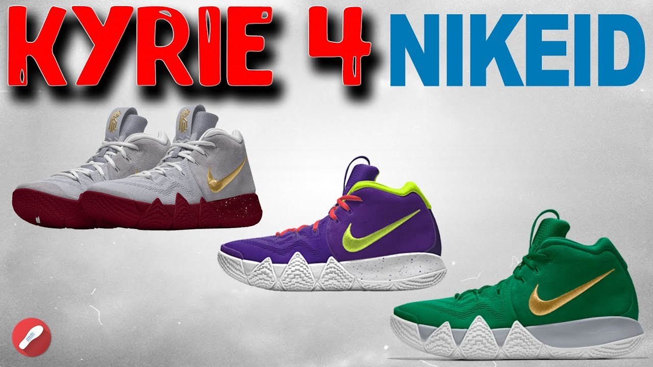 a2846a554c7a Designing the Kyrie 4 on NIKE ID! - YouTube