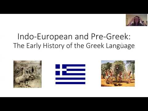 Indo-European and Pre-Greek: The Early History of the Greek Language