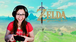 Playing Zelda: Breath of the Wild for the first time!