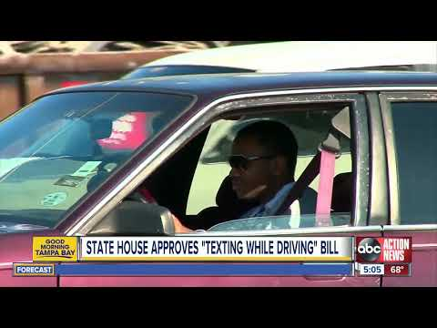 Deuce - Texting And Driving In Florida: Now Officially A Primary Offense