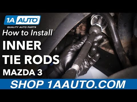 How to Install Inner Tie Rods 2004-14 Mazda 3