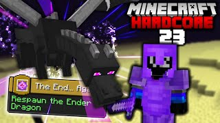 RESPAWNING THE ENDER DRAGON in Minecraft Hardcore (#23)