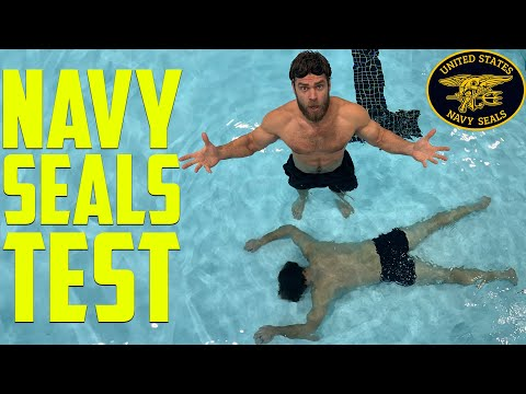 62 YEAR OLD MAN & Sons Try The NAVY SEALS FITNESS TEST