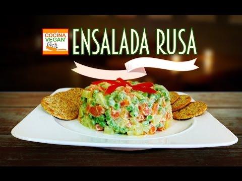 Ensalada rusa  Cocina Vegan Fcil  YouTube