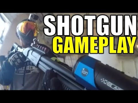 Playing Airsoft With The Jag Arms Scattergun - Close Up HITS