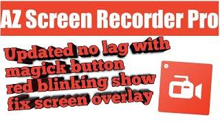 az screen recorder pro apk android 4.4