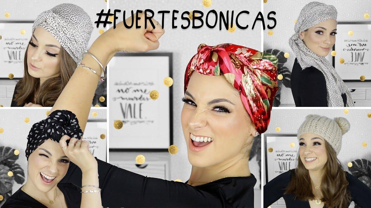 9ef8c442a2 5 Turbantes con estilazo contra el cáncer