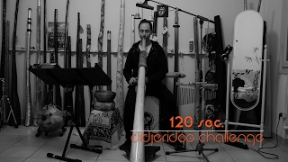 Gianni Placido 120 sec. didgeridoo challenge