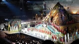 Aida Triumphmarsch 7.7.2015 Verona Arena
