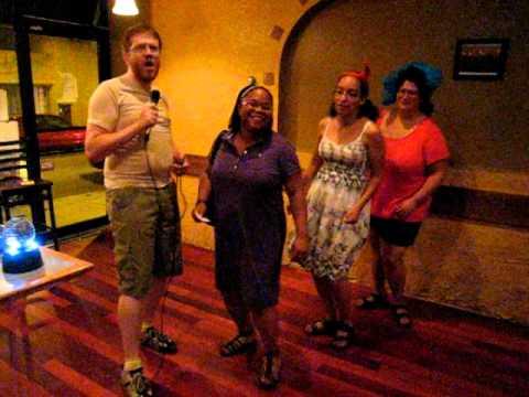 Dr Thunder sings Sh-Boom (Karaoke 2011-08-10) w/Dancing