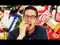 I Tried Every Flavor of Japanese Kit Kats