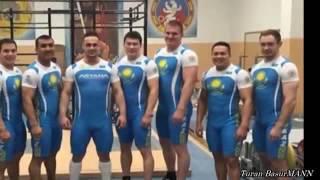 Казахи внушающие страх миру тяжелой атлетики