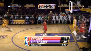 NBA Jam - Nintendo Wii - Chicago Bulls vs. Los Angeles Lakers
