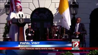 Papa! Pope stirs excitement in DC, calls for climate change