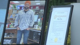 Eyewitness News Memorial held for Manjeet Singh