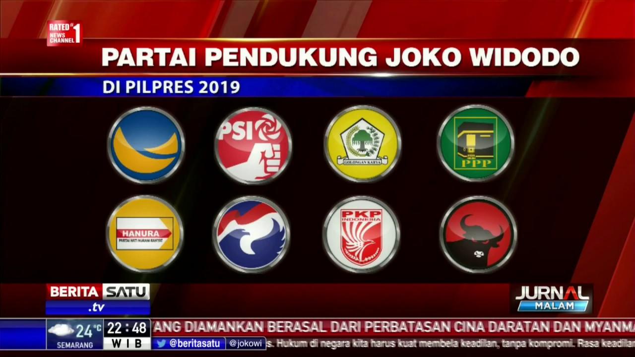Partai Pengusung Jokowi Di Pemilu