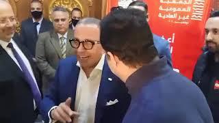 شاهد.. بعد منعه من حضور عمومية اتحاد الكرة.. عمرو الجنايني لأحمد مرتضى: أنت فوق راسنا