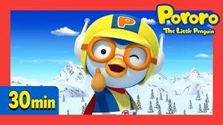 Superhero Pororo and Dinosaurs Collection (30min) | Pororo English Animation for kids
