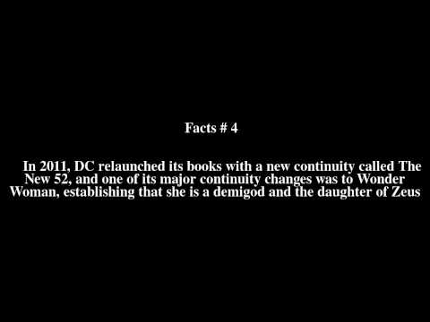 Wonder Girl (Cassie Sandsmark) Top # 6 Facts