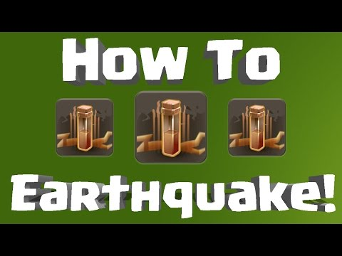 Clash of Clans - Earthquake Spell in Depth + How-to Tutorial!