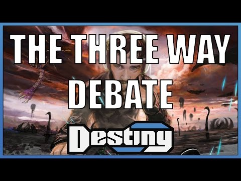 The Three Way Debate