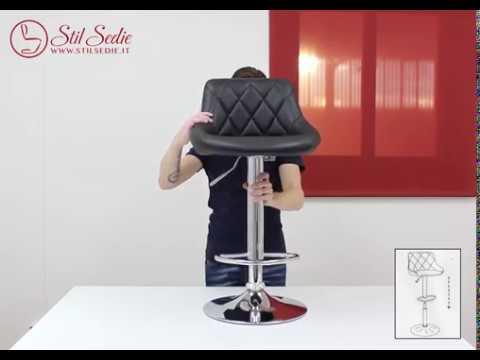 Enki guida al montaggio dello sgabello da bar stil sedie stool