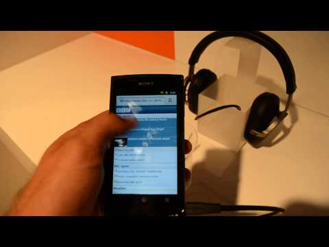 Sony Walkman Mobile Entertainment MP3 Player im Hands On