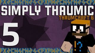 Thaumcraft 6 - Simply Thaumic Minecraft 1.10+ - Ep. 5 - Nitor and the Nether