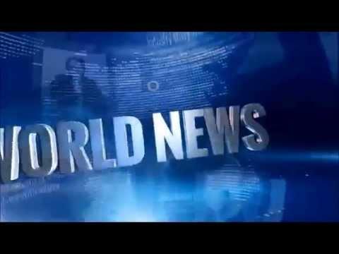 Media Library World news clip