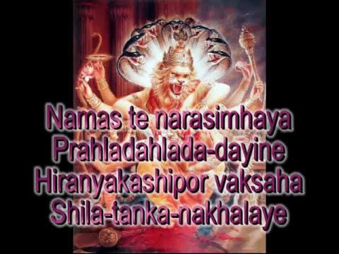 Prayers to Lord Nrsimha