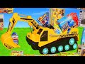 Kinder Spielzeug Kanal Youtube Channel in Excavator, Truck, Cars & Dump Trucks Construction Toy Vehicles for Kids | Ride On Surprise Toys Video on substuber.com