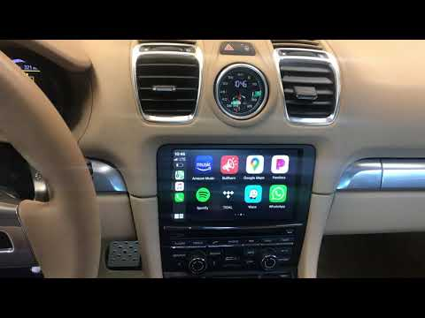 2014 Porsche Cayman S adding CarPlay to Factory Radio