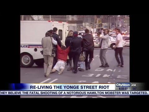 Re-living the Yonge Street riots