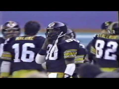 1984 Pittsburgh Steelers vs San Diego Chargers Highlights