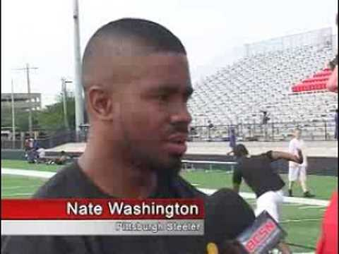 Nate Washington On Sports Flash, Toledo Ohio