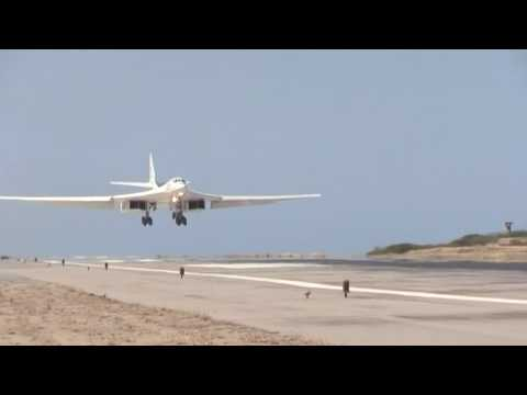 Russian Tu-160 strategic bombers land in Venezuela for 'combined operational flights'
