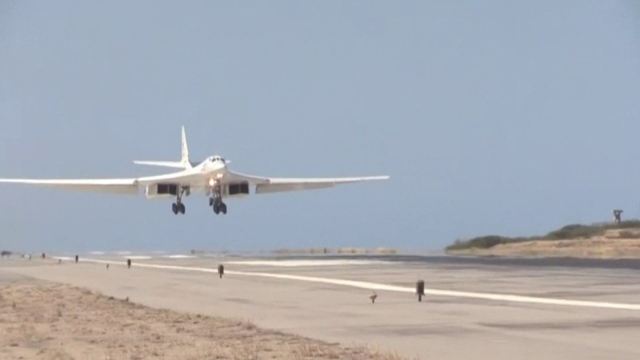 Russian Transport Aircraft Deliver Men And Materiel To