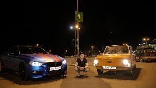 """BMW F30 VS ЗАЗ 966. Live обзор. """"Герои города"""" Владимир. #авторубайкал"""