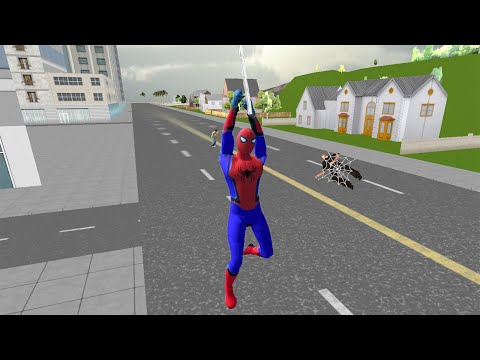 Spider Boy San Andreas Crime City - Android Gameplay