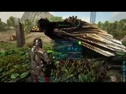 how to spawn your own argentavis in ark ps4